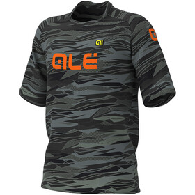 Alé Cycling Off-Road MTB Rock SS Jersey Men black/fluo orange